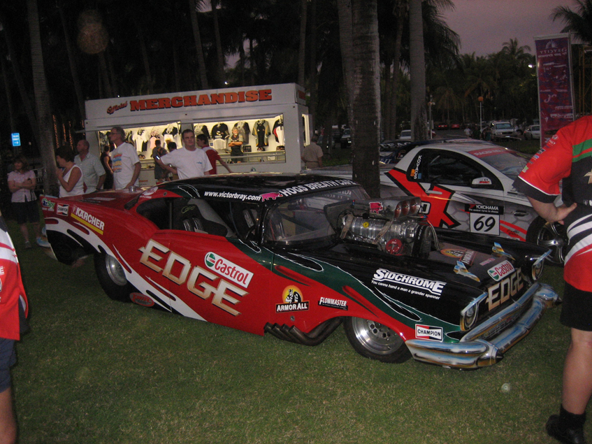 Darwin V8s on parade at Sky City Resort